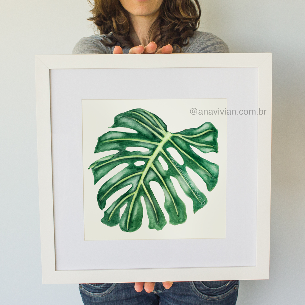 Novidade na Loja: Prints Aquarela Botânica