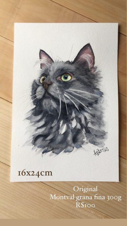 Original Gato cinza